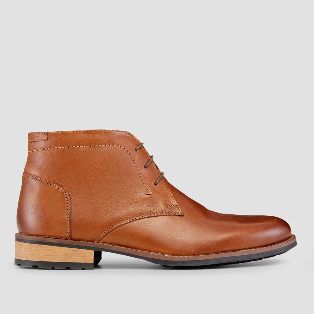 Donald Tan Chukka Boots