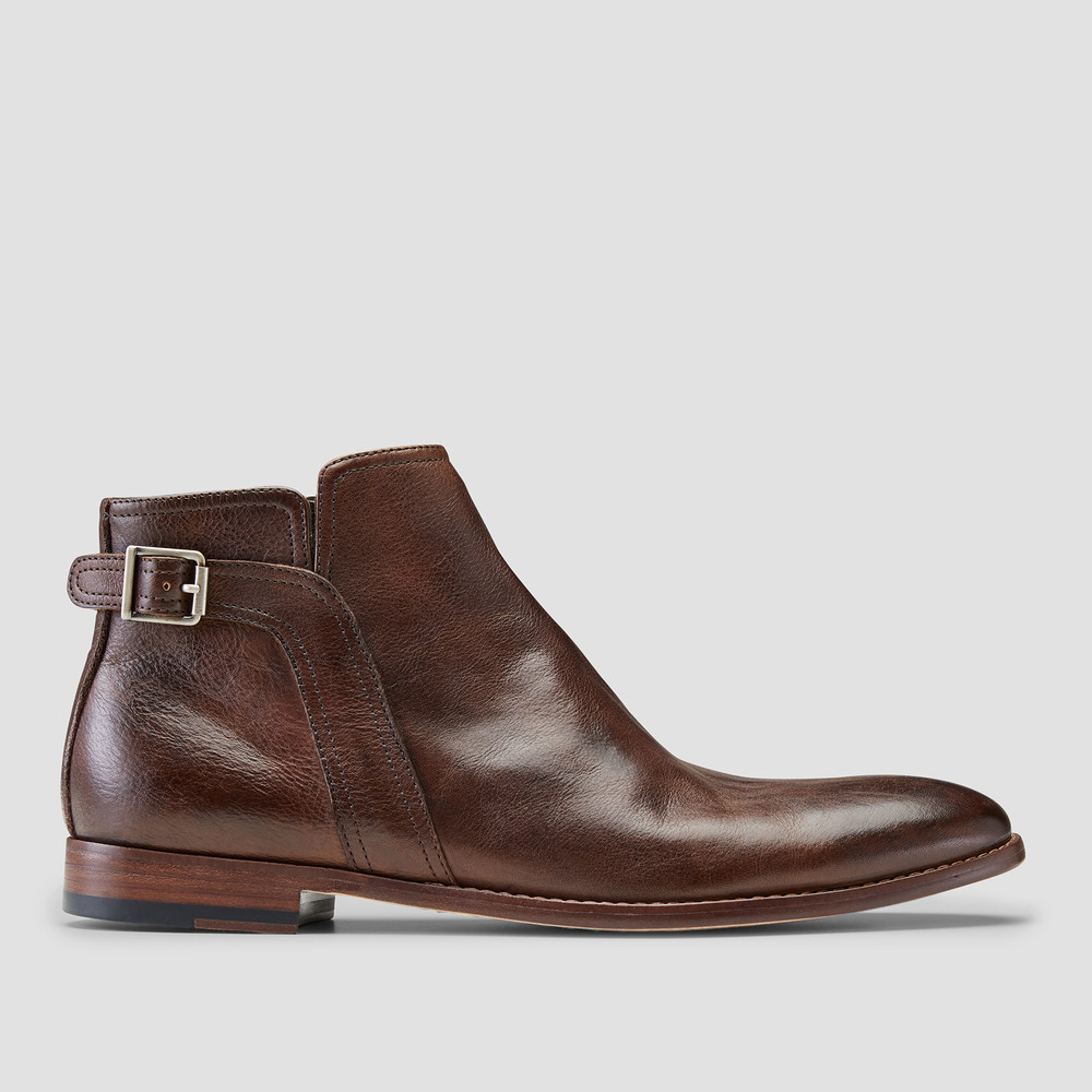 Adriano Brown Ankle Boots