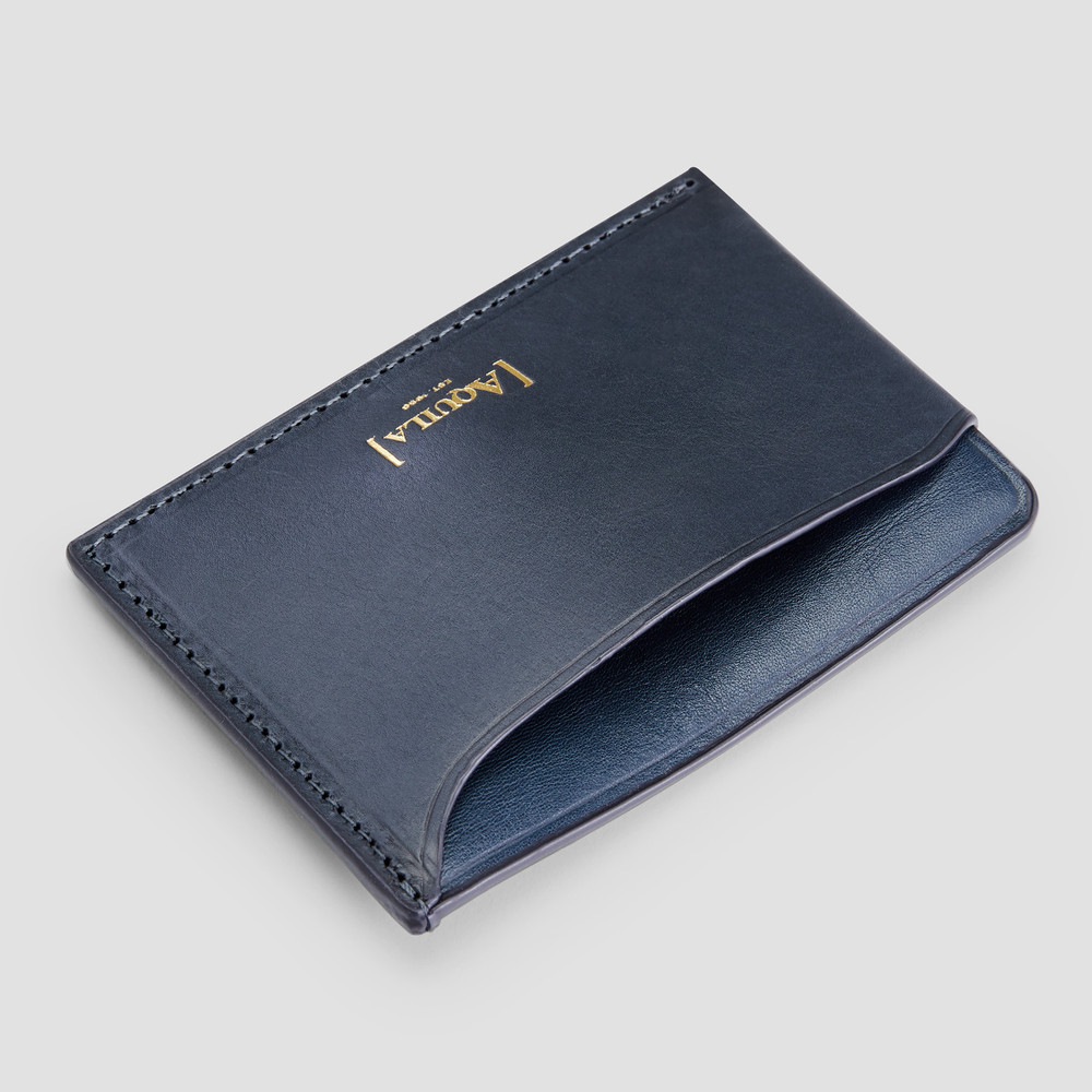 Sicily Navy Card Holder