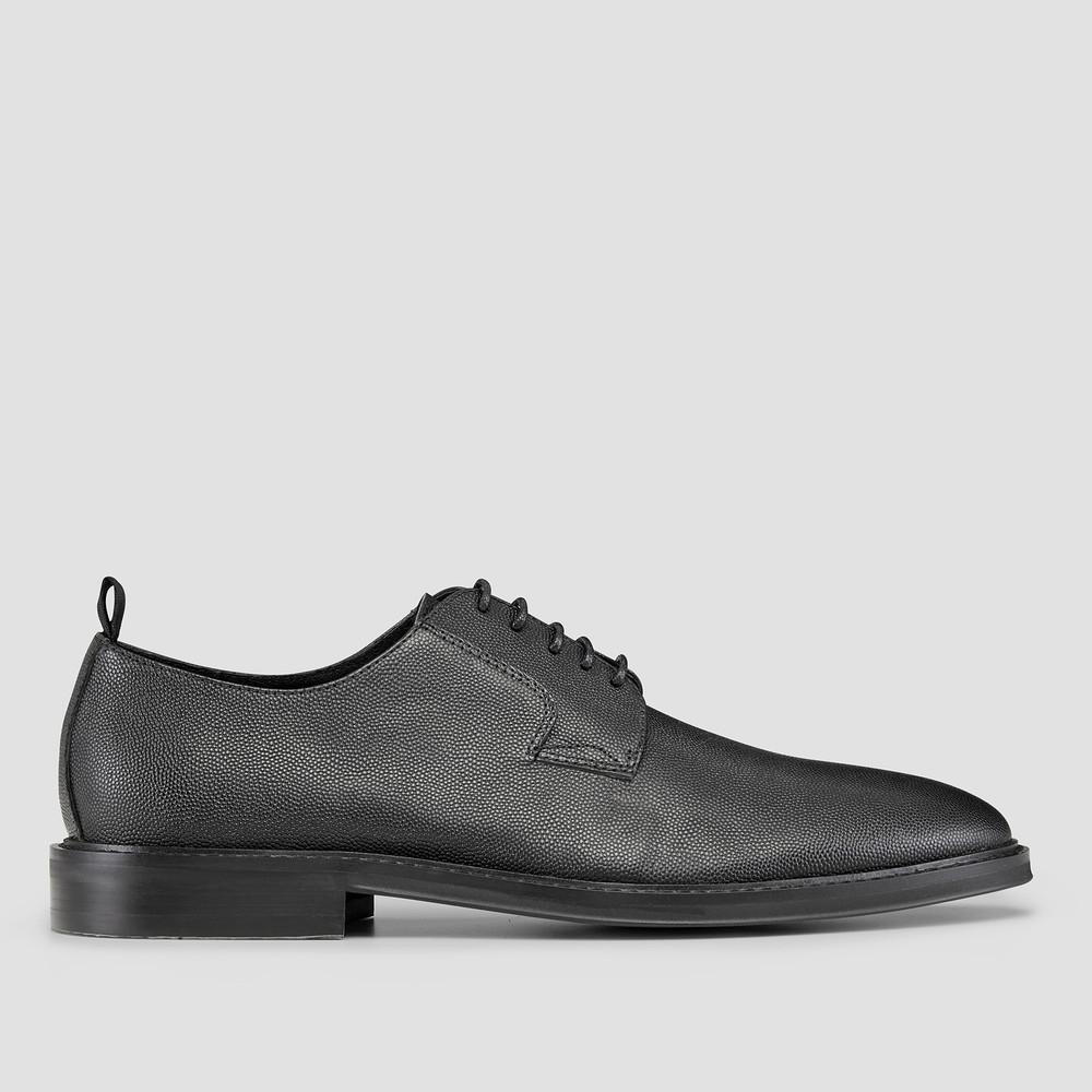 Cad Black Lace Up Shoes