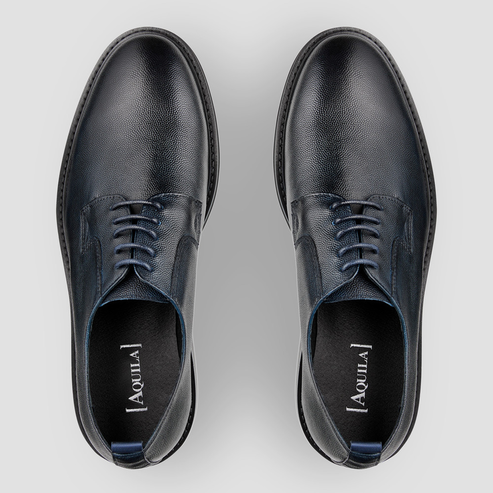 Cad Navy Lace Up Shoes