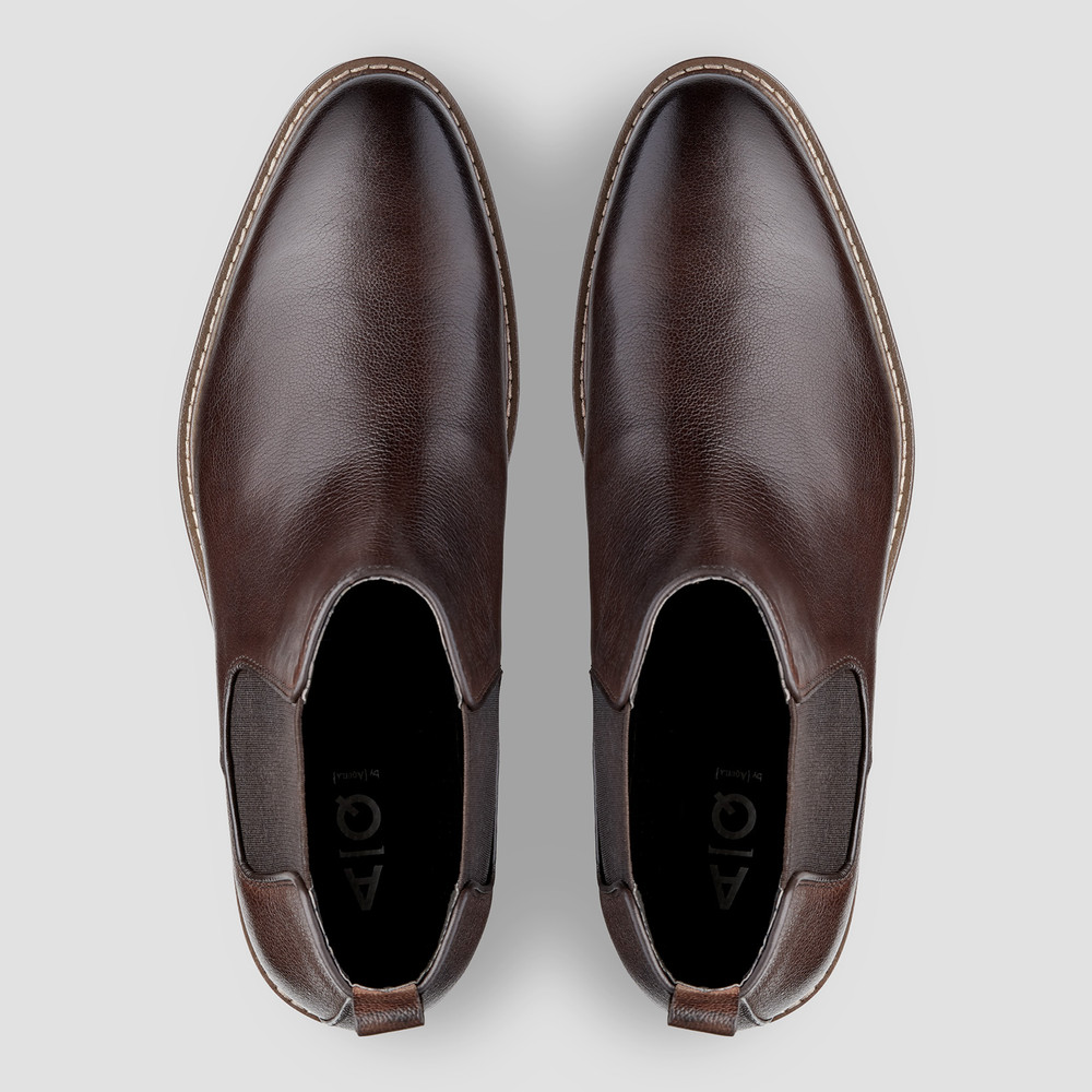 Lucca Brown Chelsea Boots