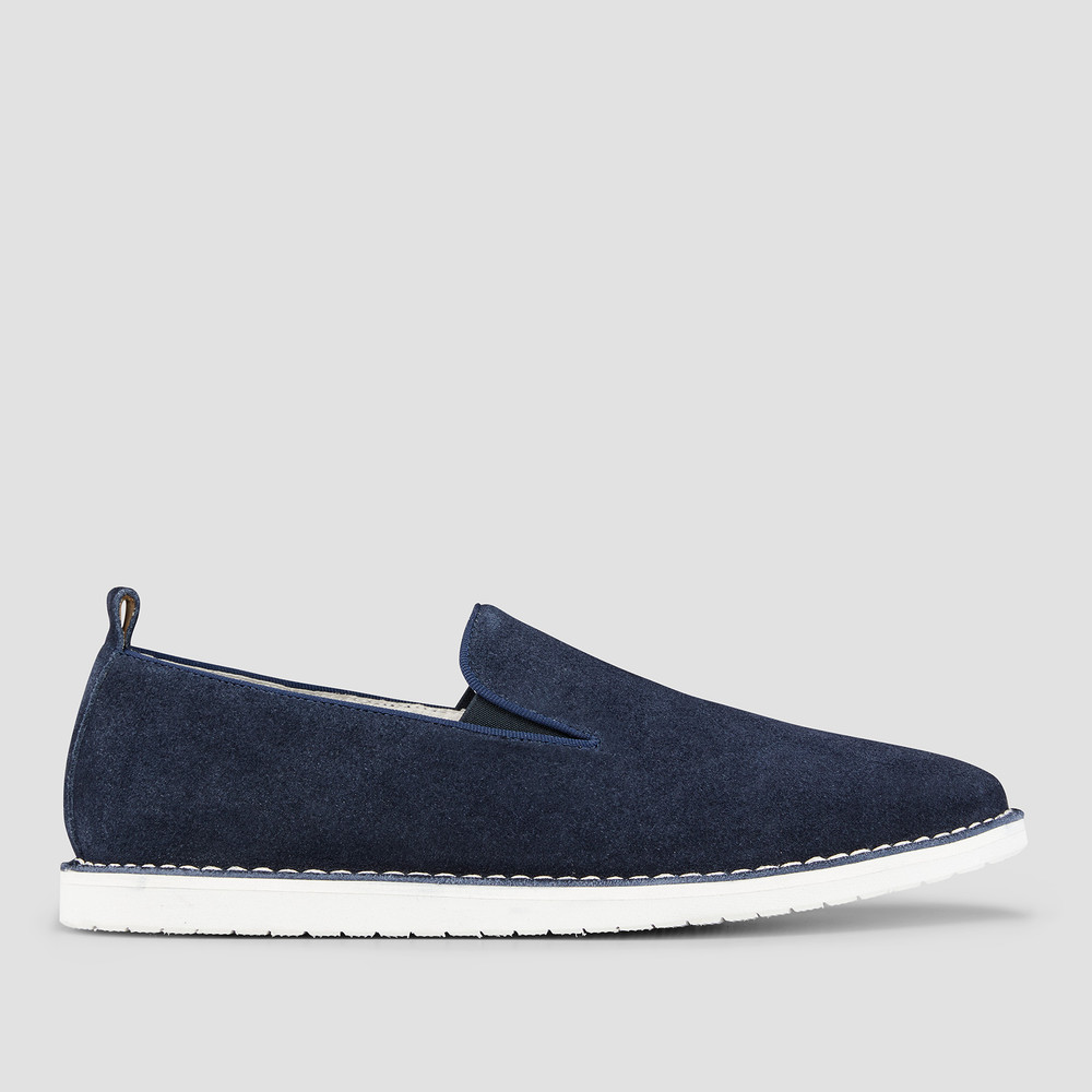 Armando Petrol Slip On Shoes