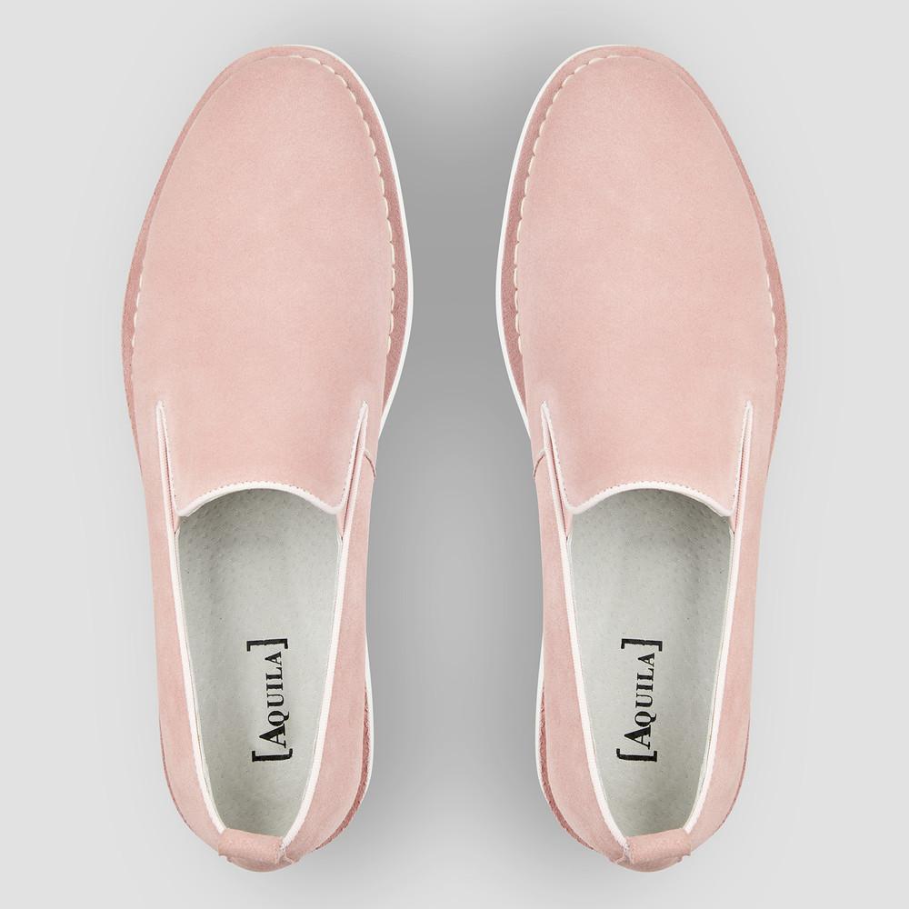 Armando Pink Slip On Shoes