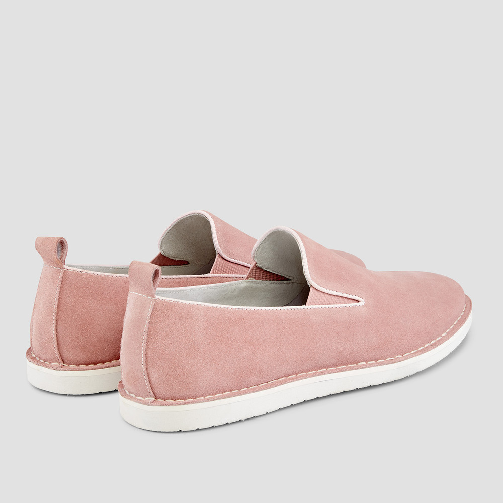 Armando Pink Slip On Shoes