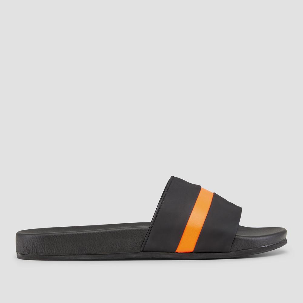 Bagby Orange Pool Slides