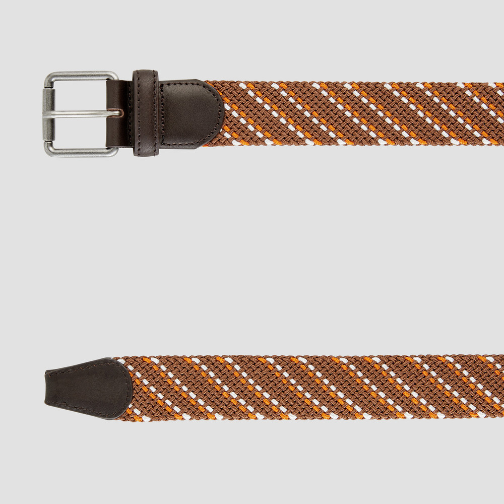 Rudd Brown Stripe Belt