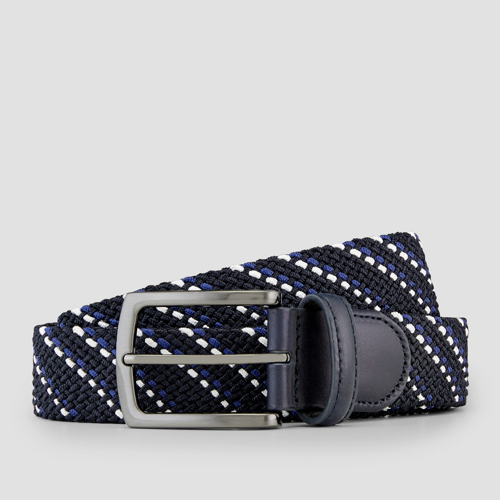 Rudd Navy Stripe Belt