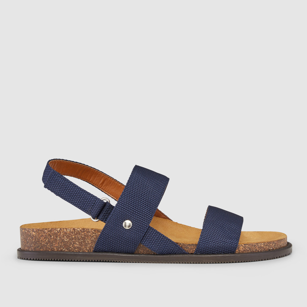 Cuba Navy Sandals