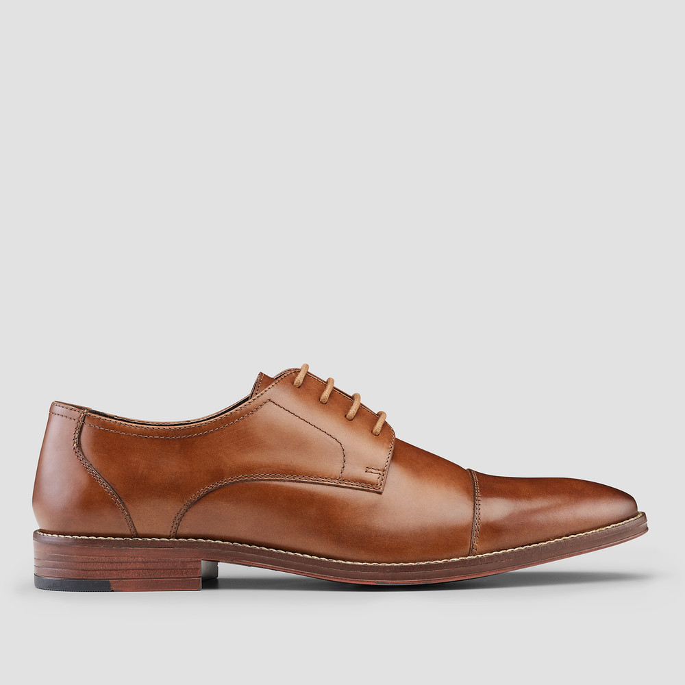 Stringer Tan Dress Shoes