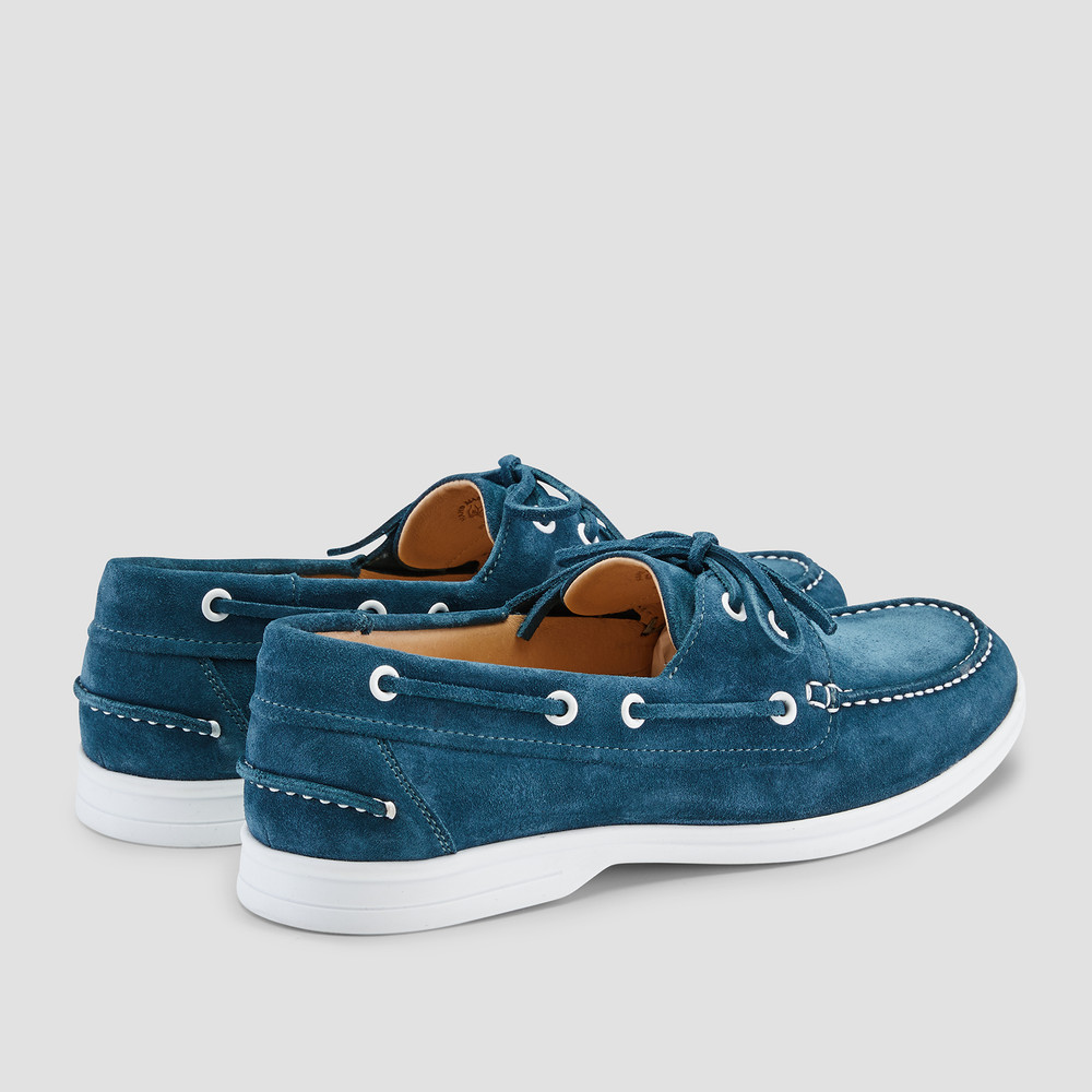 Marseille Petrol Boat Shoes