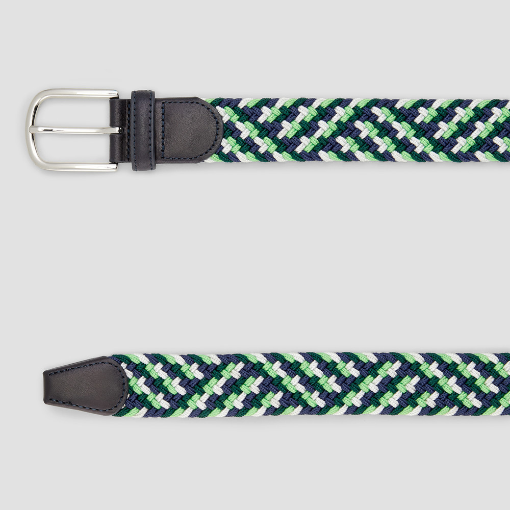Albright Navy/ Green Belt