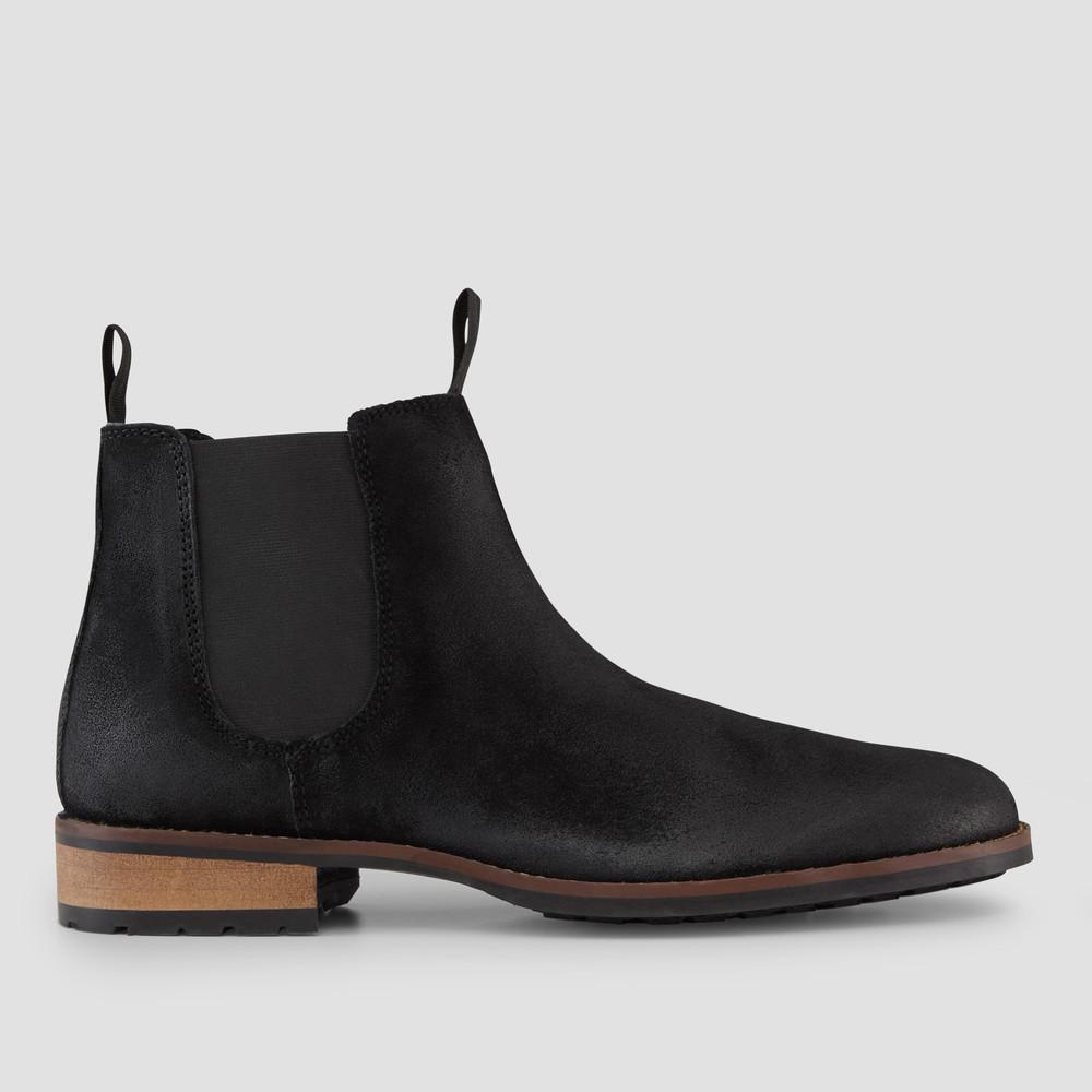 Bullen Black Chelsea Boots
