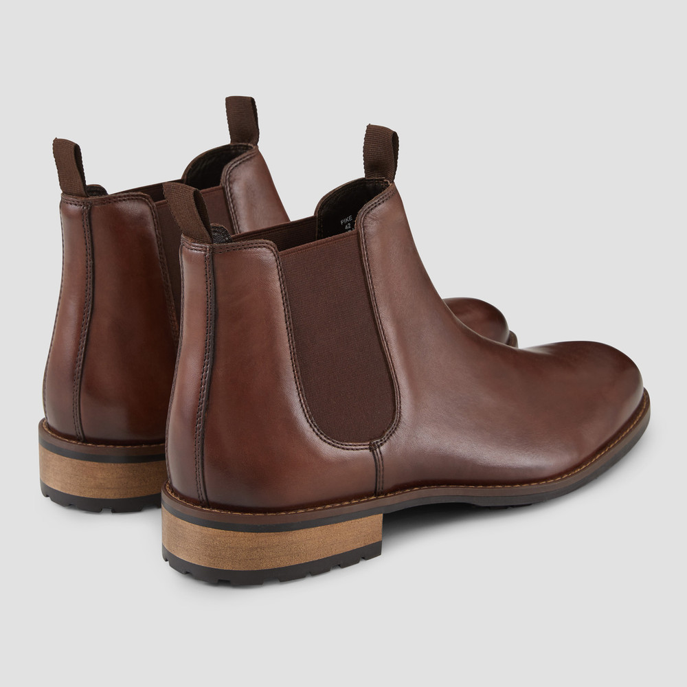 Pike Brown Chelsea Boots