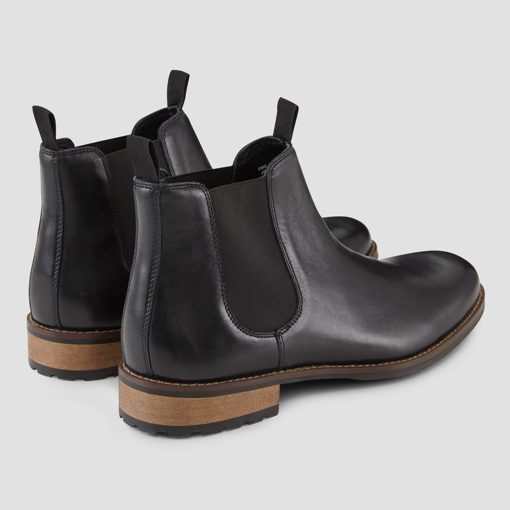 Pike Black Chelsea Boots