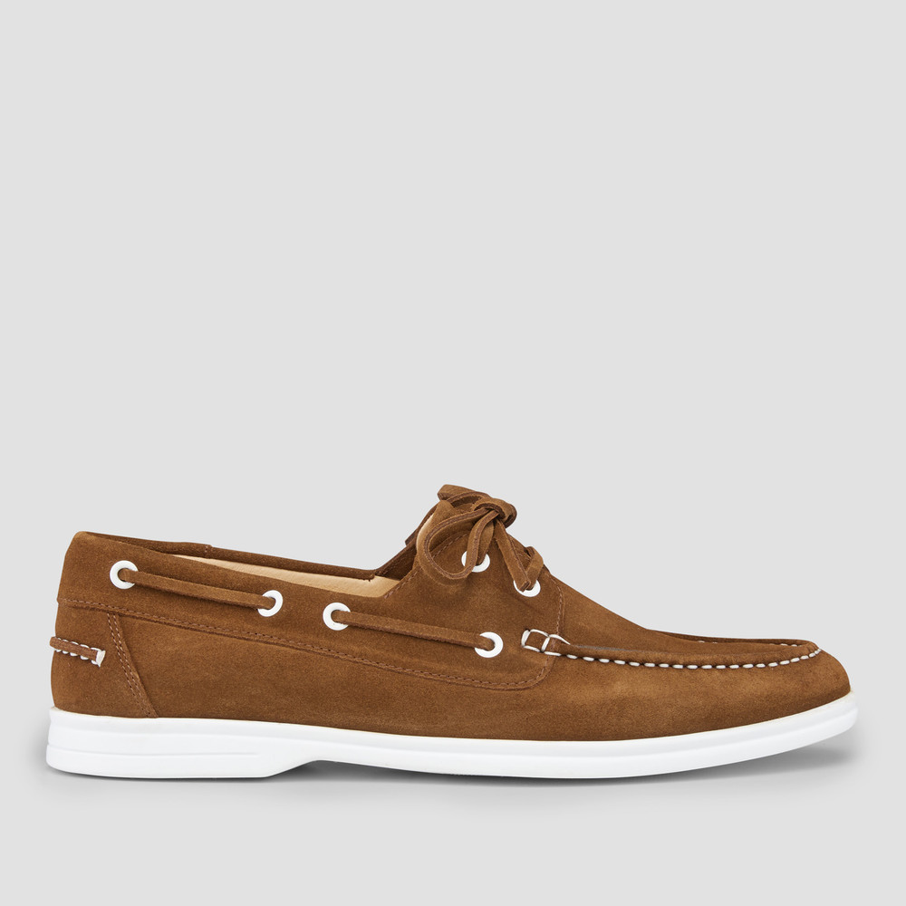 Marseille Tobacco Boat Shoes