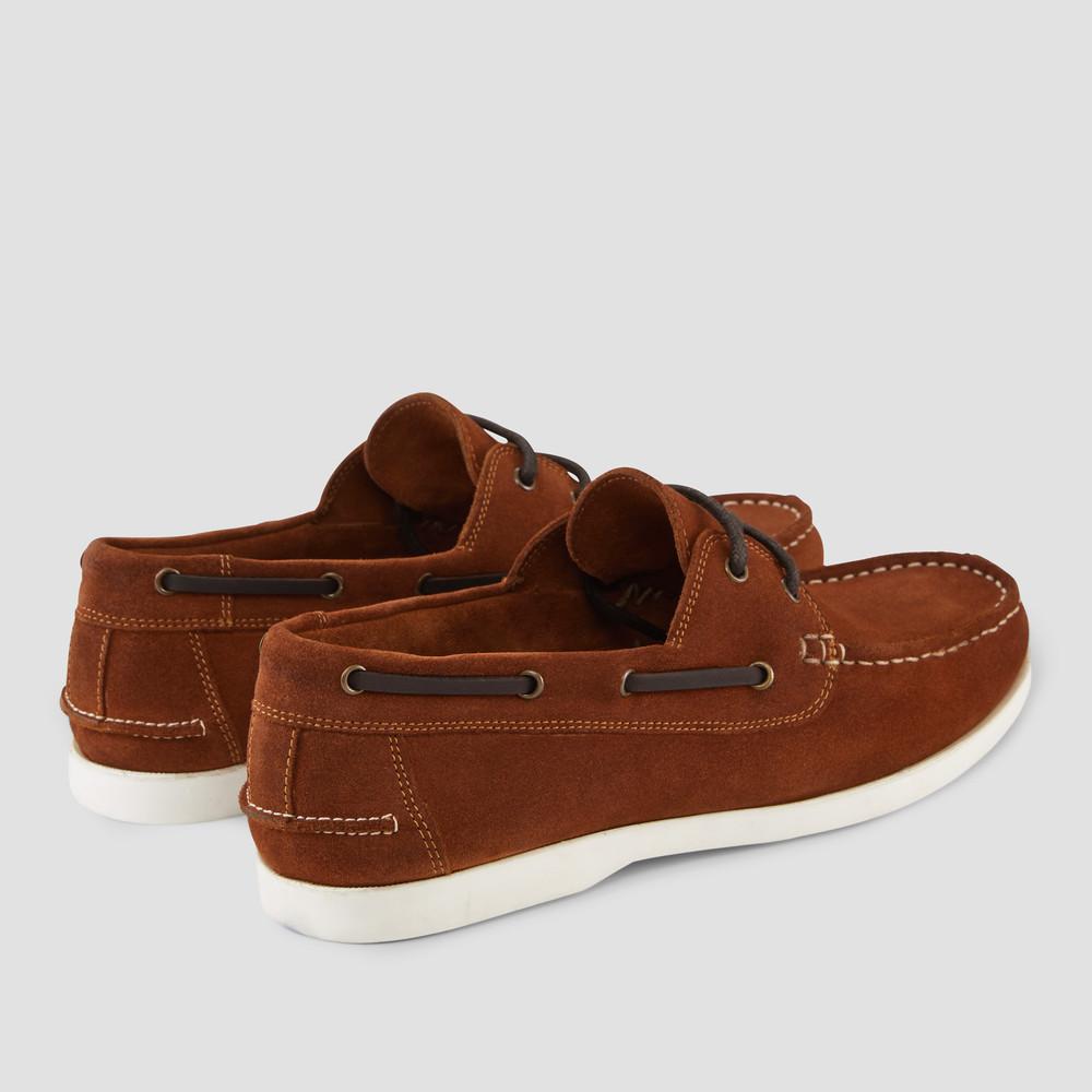 Gunston Camel Boat Shoes