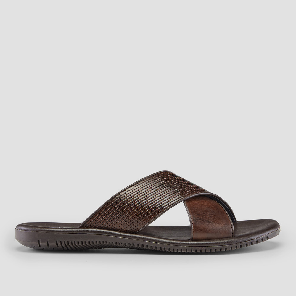 Hensley Brown Sandals