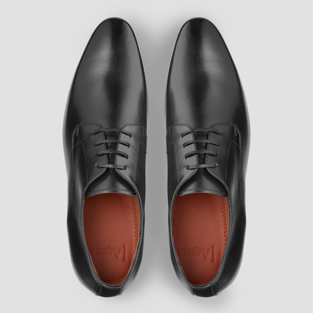 Aston Black Derby Shoes