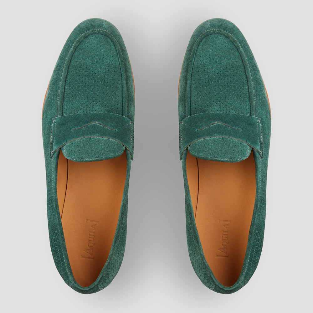 Lawry Forest Penny Loafers
