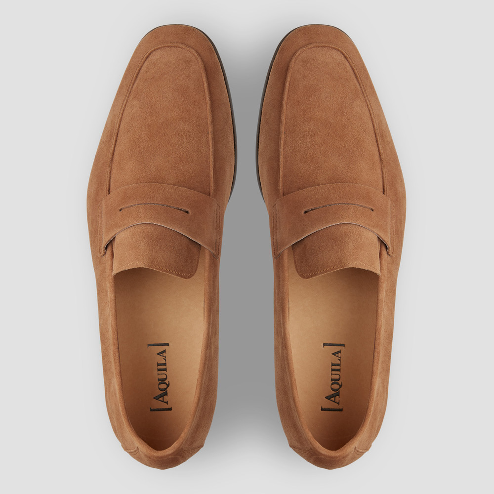 Matias Camel Penny Loafers