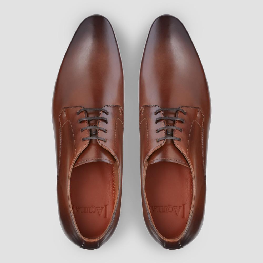 Aston Tan Derby Shoes