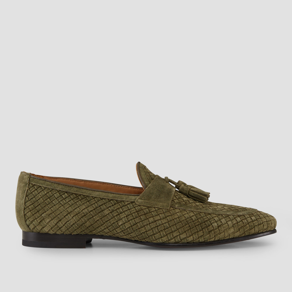 Emerton Forest Green Loafers