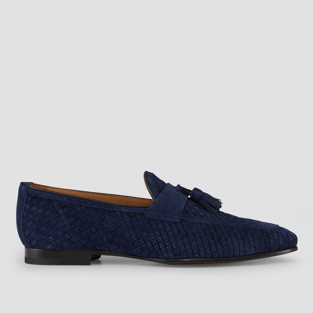 Emerton Navy Loafers
