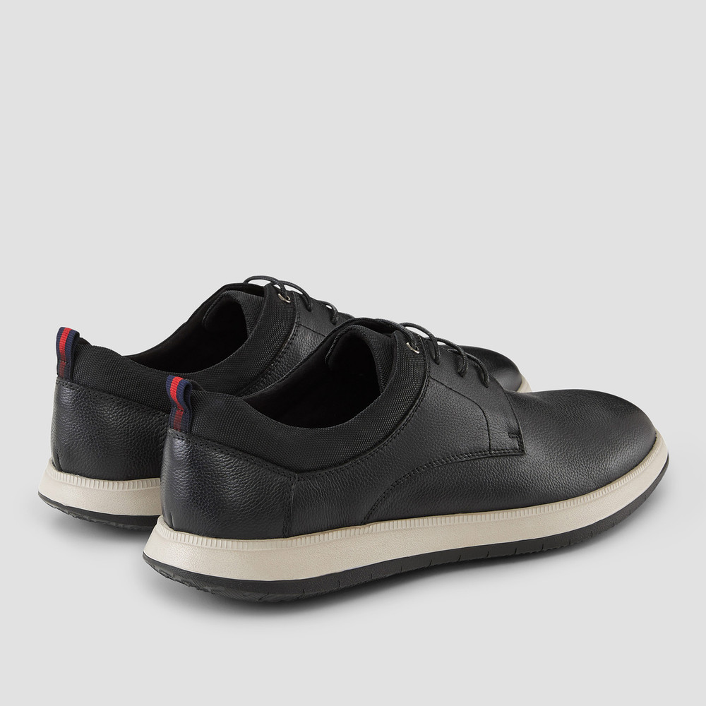 Curt Black Casual Shoes