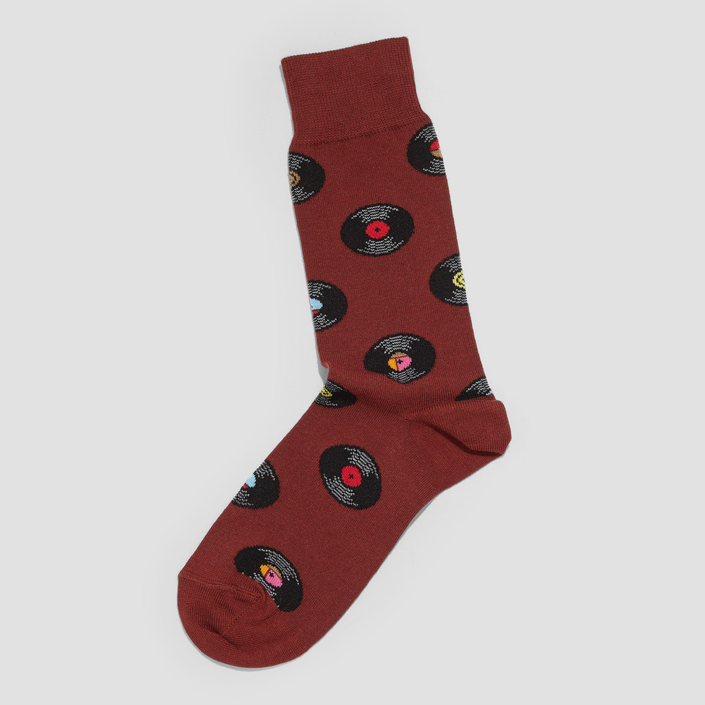 Leo Rust Socks