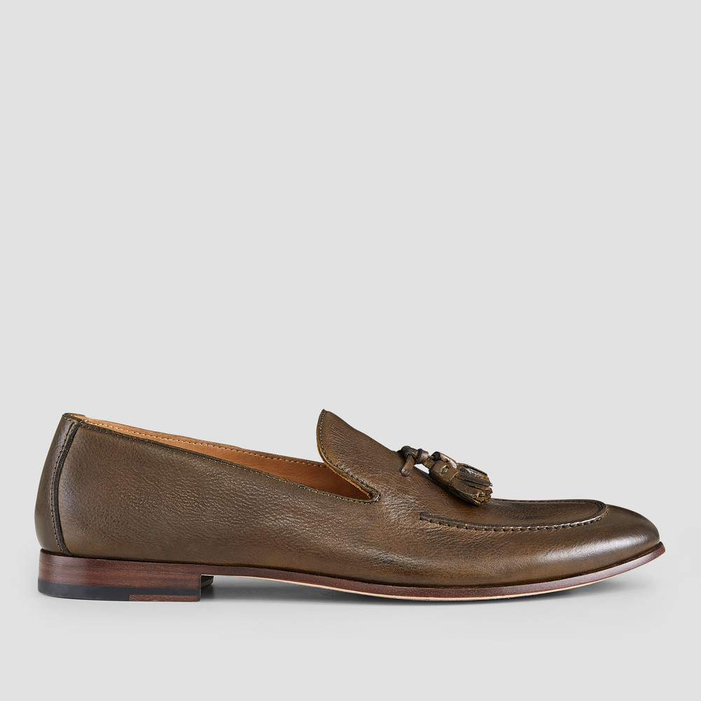 Alberto Olive Loafers