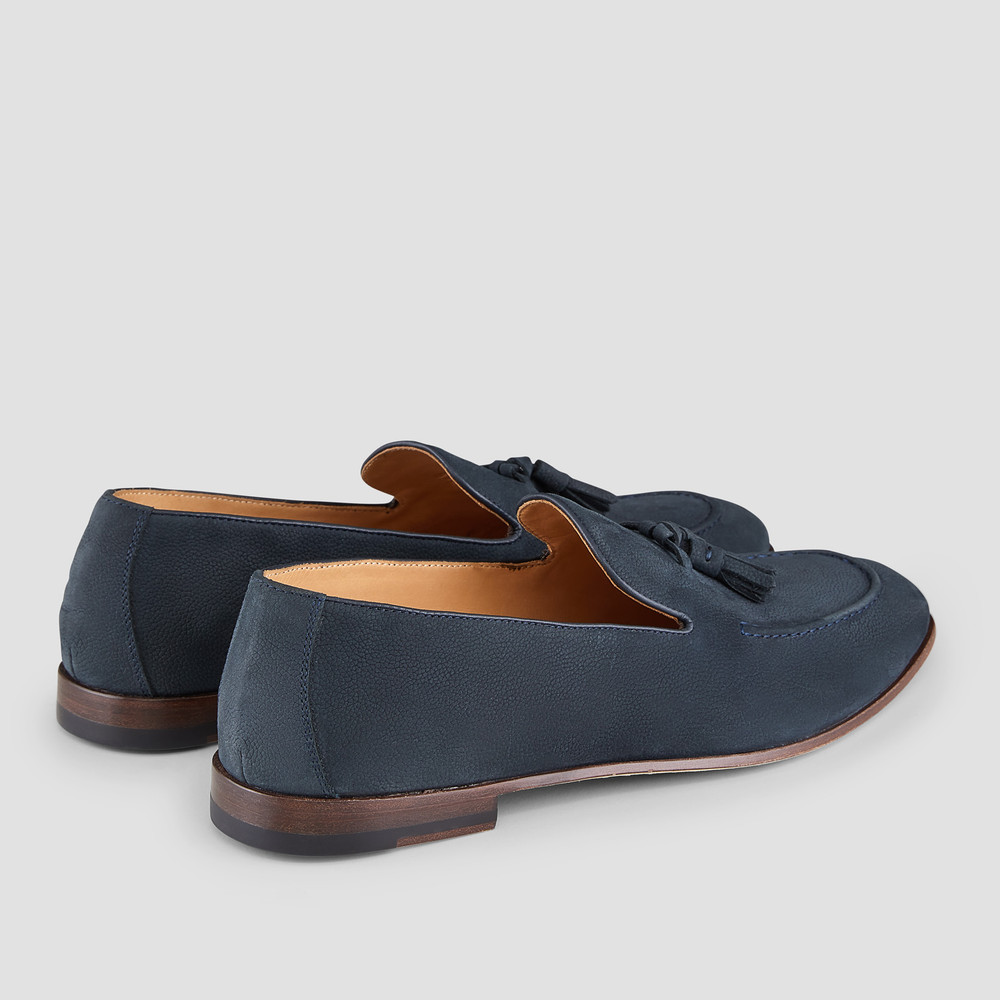 Rodolfo Navy Loafers