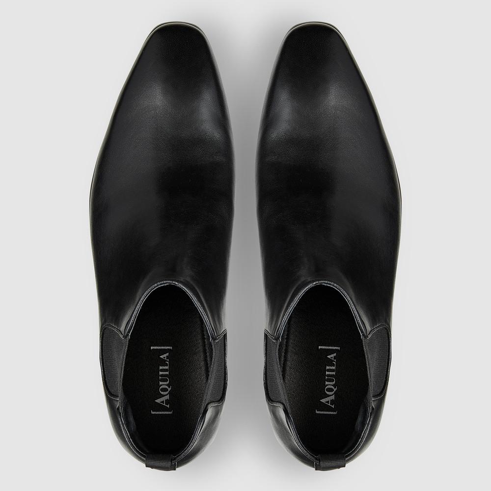 Warnock Black Chelsea Boots