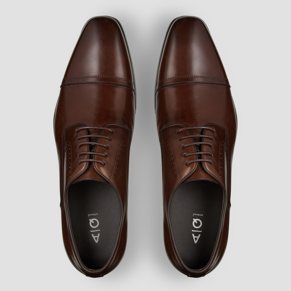 Thatcher Brown Dress Shoes