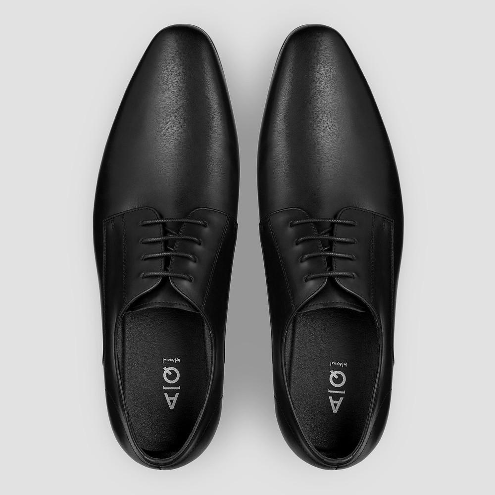 Clarke Black Dress Shoes - Aquila