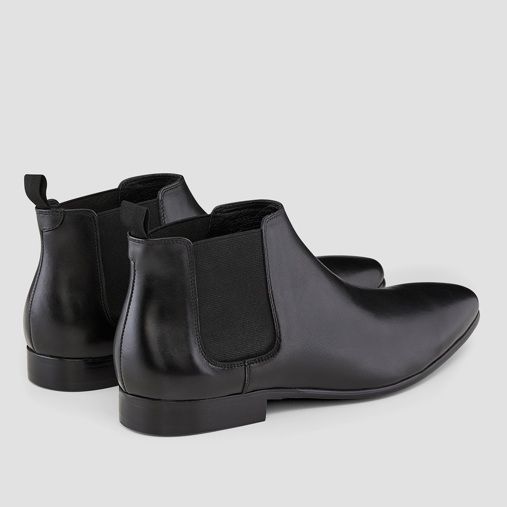 Ridley Black Chelsea Boots