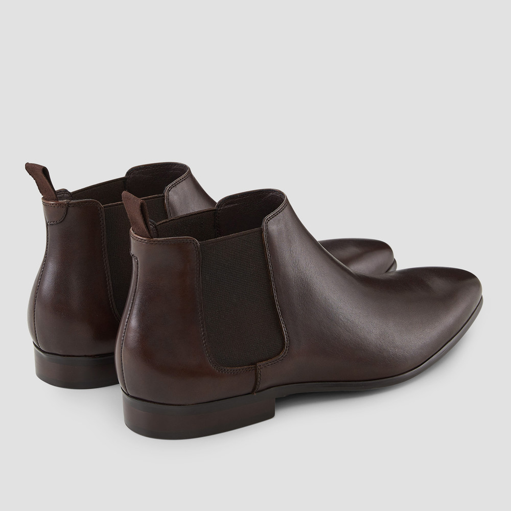 Ridley Brown Chelsea Boots