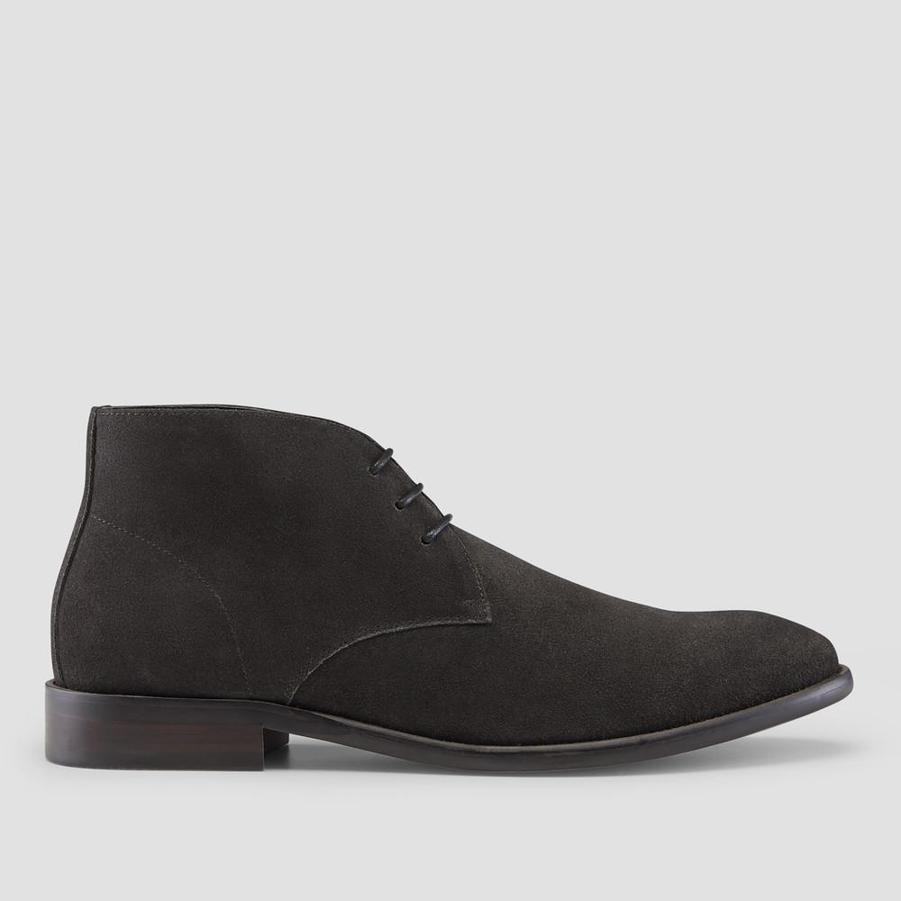 Daylan Charcoal Chukka Boots