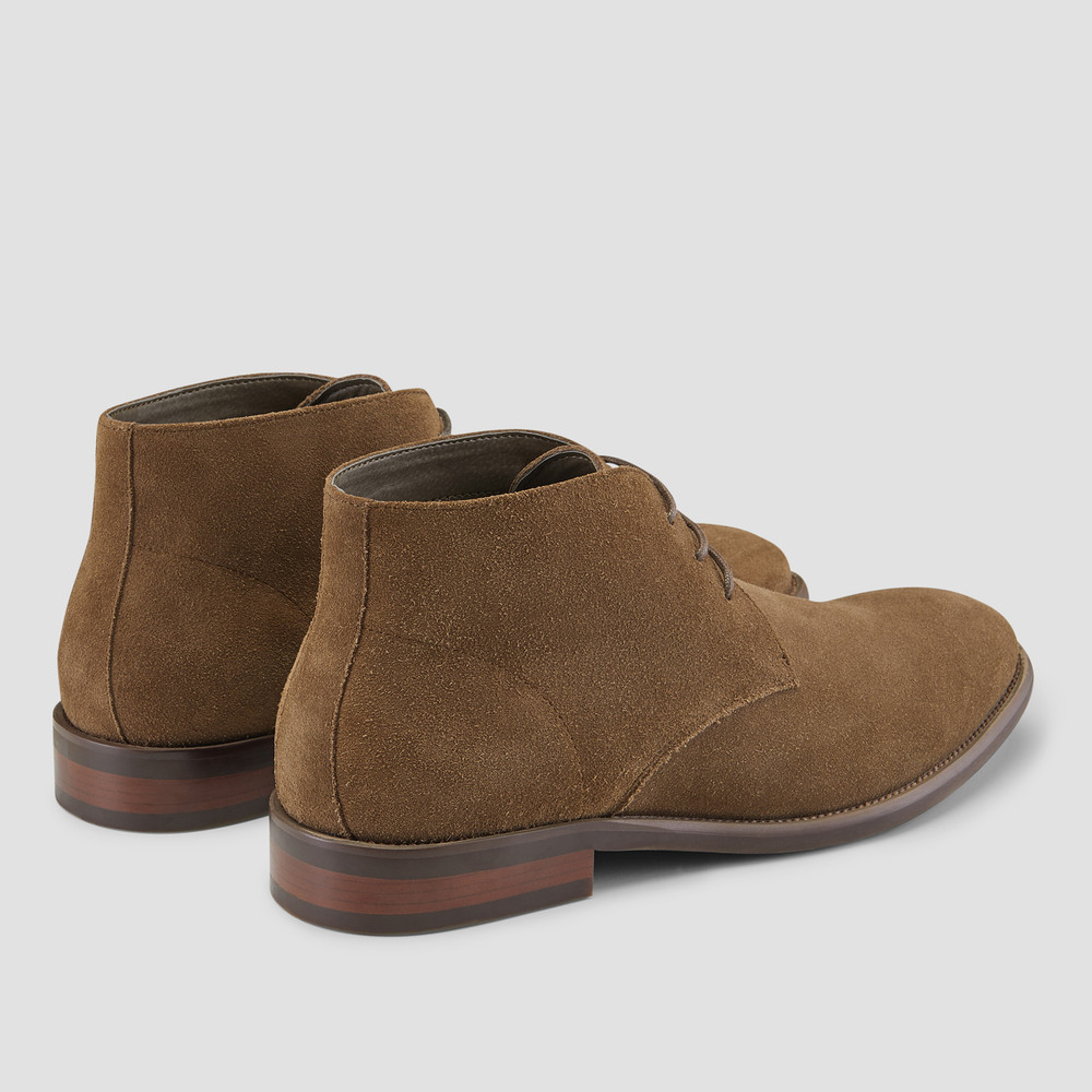 Daylan Khaki Chukka Boots