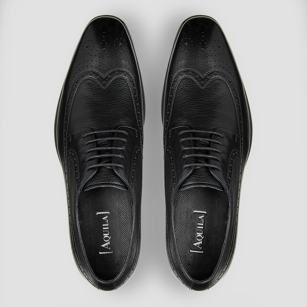 Loxwood Black Brogues