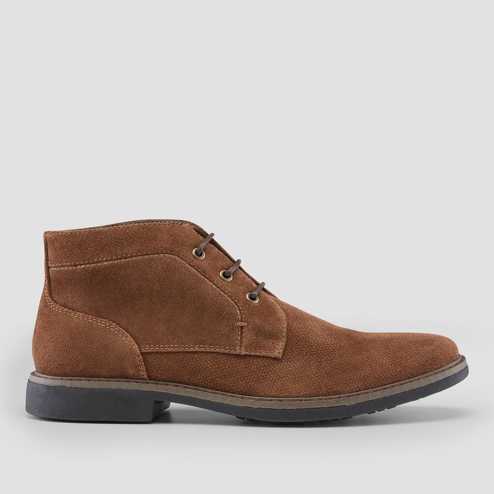 Ovie Brown Desert Boots