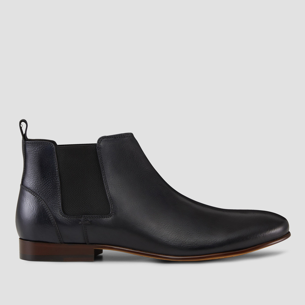 Marty Black Chelsea Boots