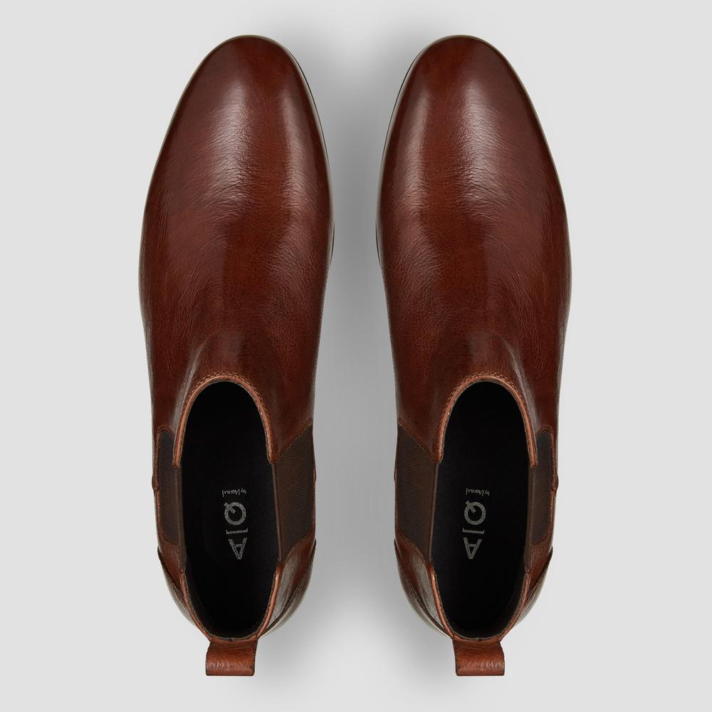 Marty Cognac Chelsea Boots