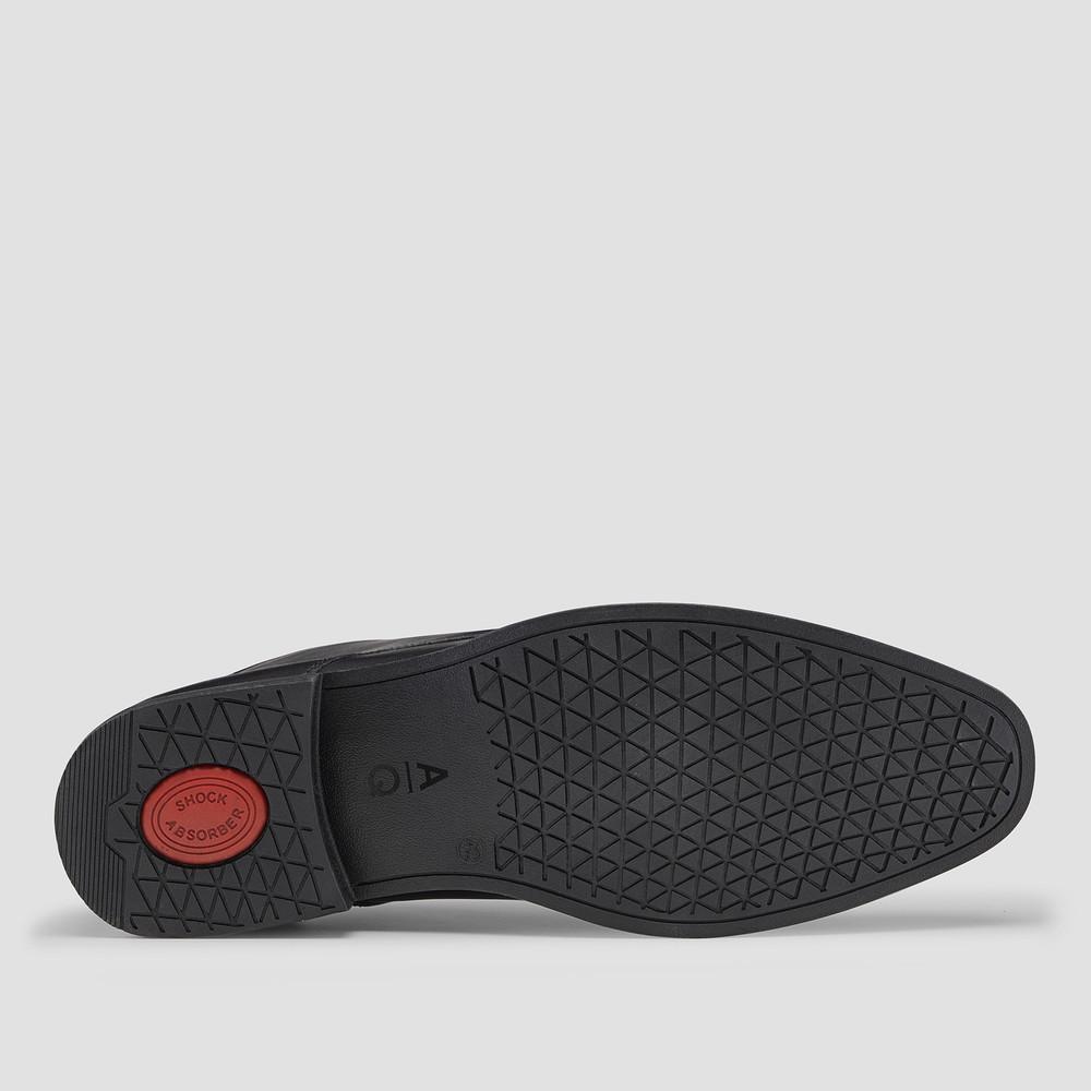 Bowman Black Ankle Boots