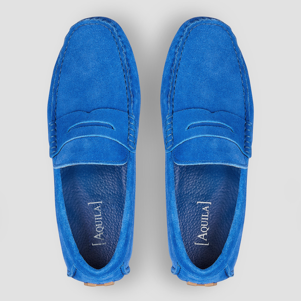 Lennie Cobalt Driving Shoes