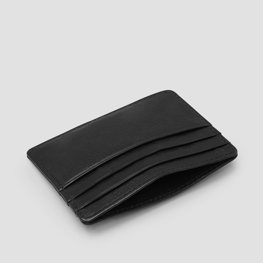 Montoro Black Card Holder