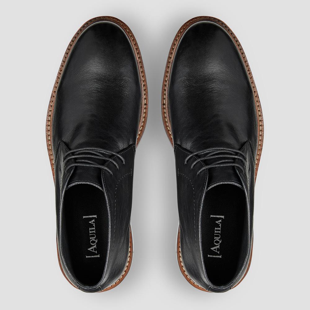 Bernett Black Chukka Boots