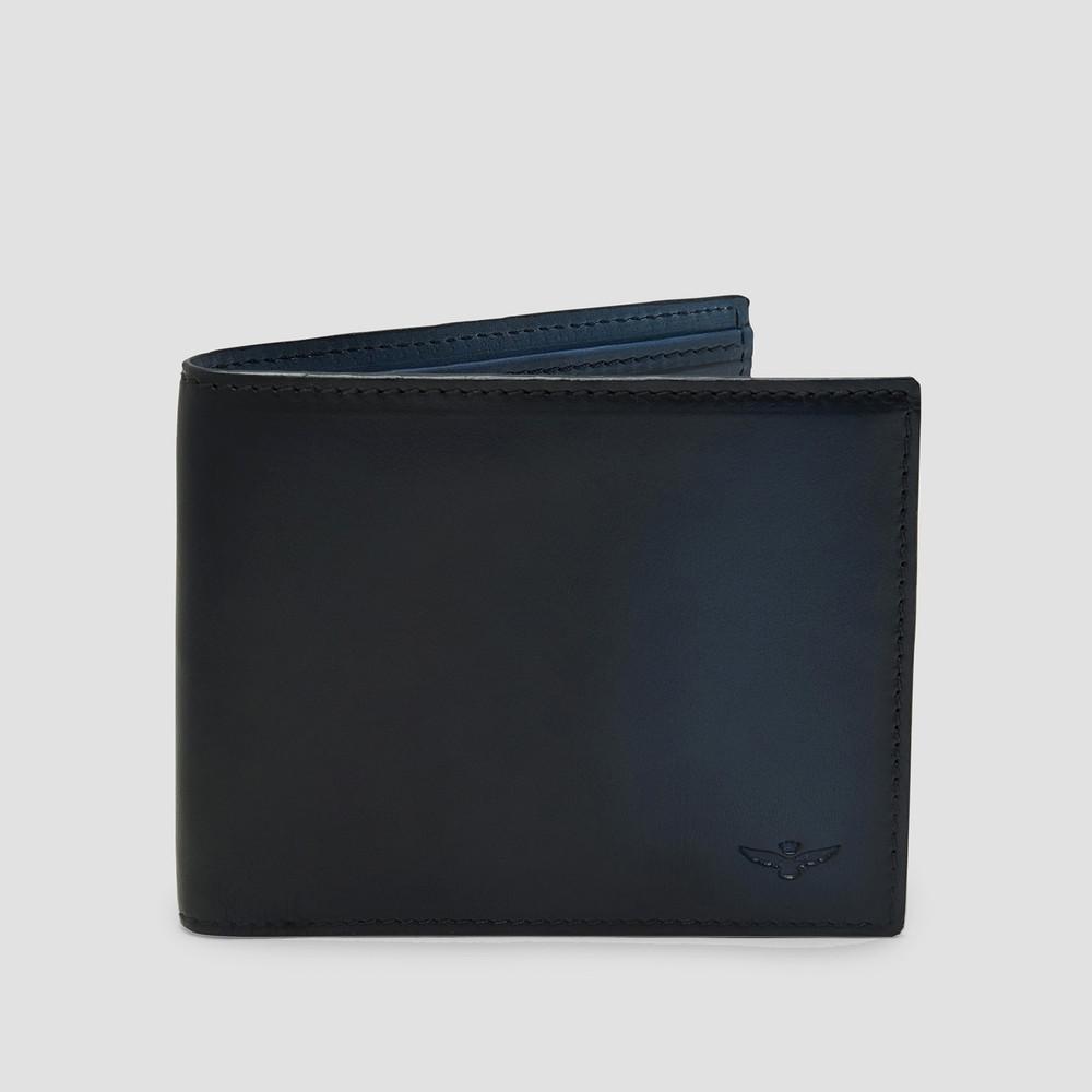 Archie Navy Bi Fold Wallet