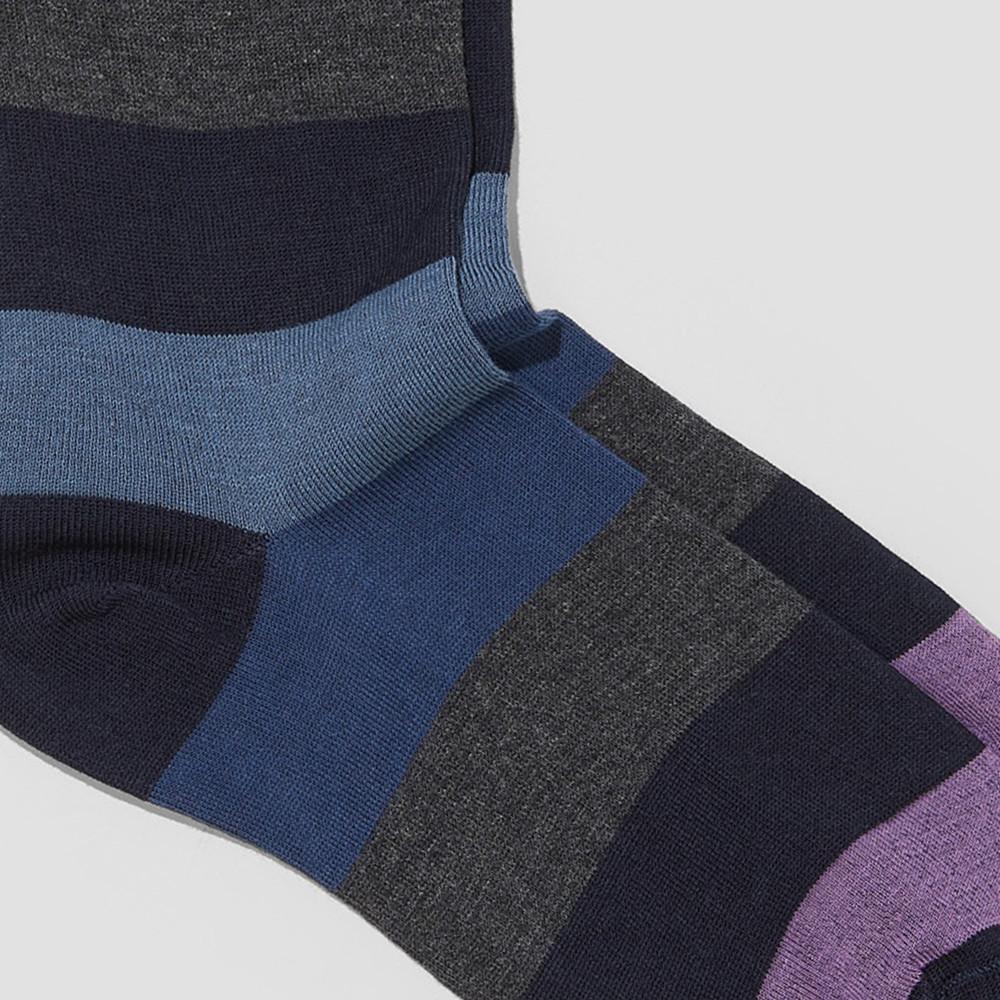 Allen Multi Stripe Socks