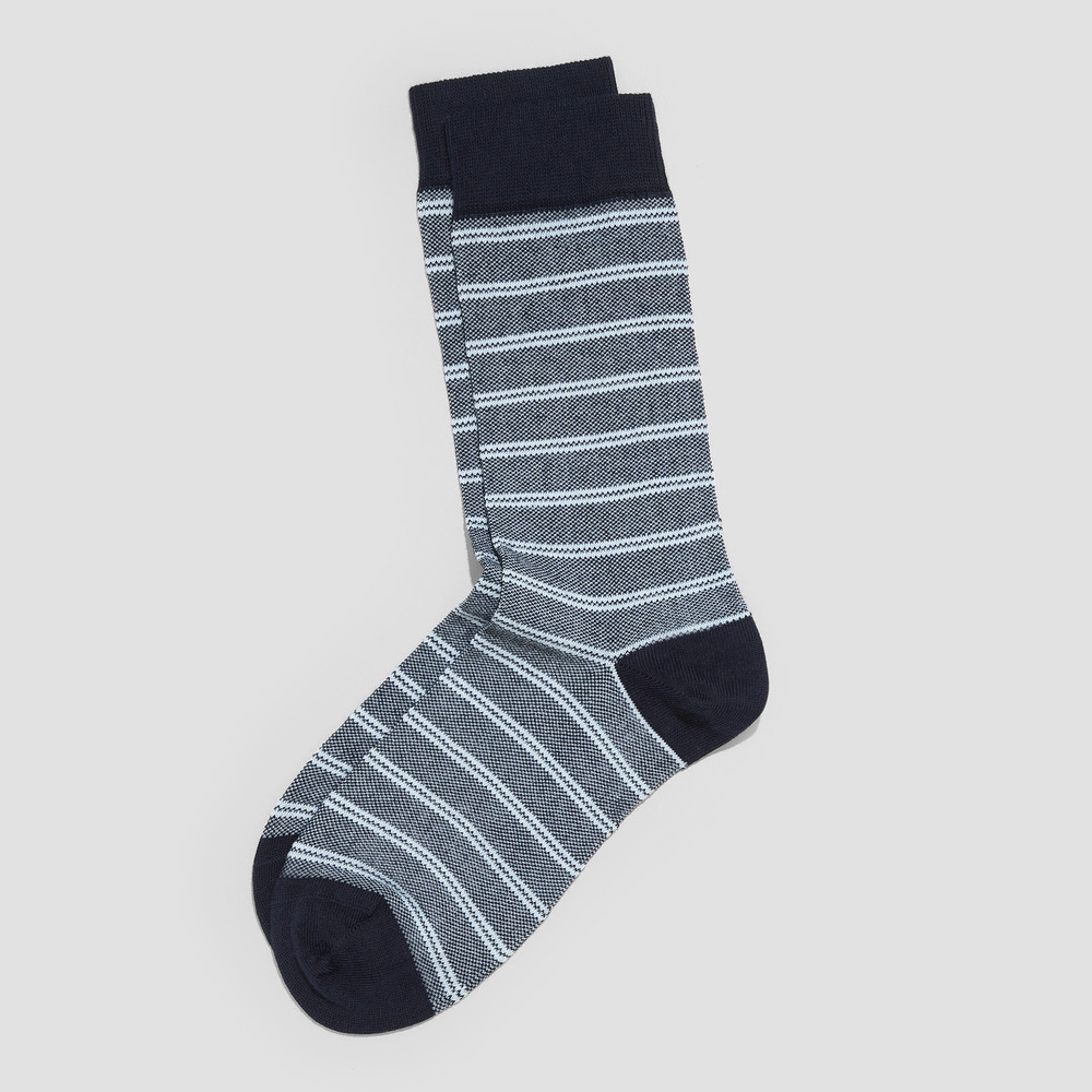 Mark Navy Socks